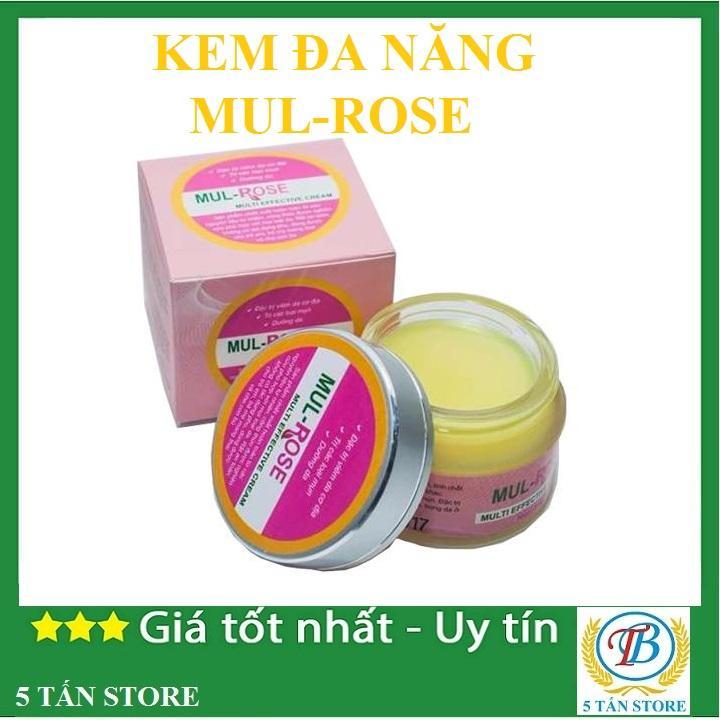 Kem đa năng Mul Rose điều trị viêm da cơ địa , nứt gót chân , chàm sữa hăm , thủy đậu và phòng trị rạn da - 30gr