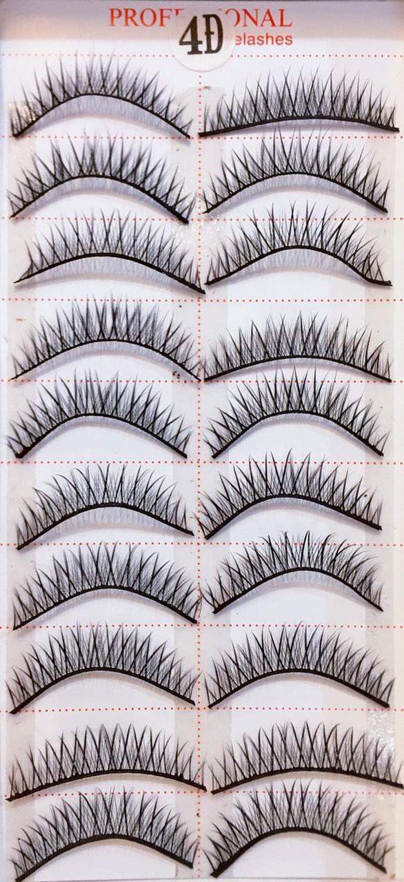Lông Mi Giả Loại Tốt Sợi Tơ Tự Nhiên Đều ,Mượt Mà, Phong Cách Hàn Quốc Model 21 Eyelashes 10 pairs( 100% Material From Korea) tốt nhất