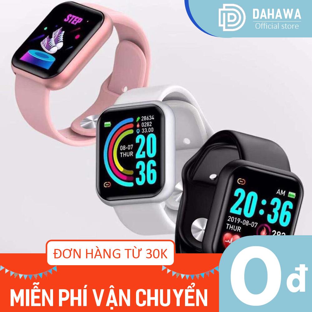 Đồng hồ thông minh Smart Watch cực hot Y68, Kết nối BIuetooth, hiển thị thông minh kỹ thuật số, theo dõi sức khỏe