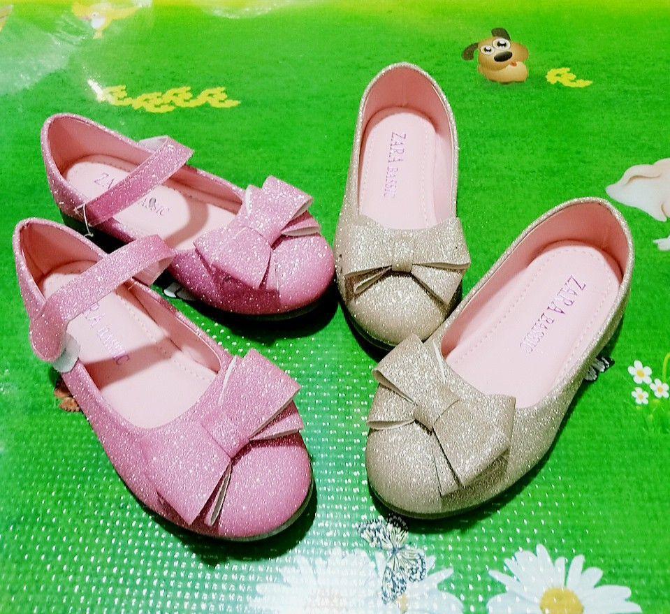 Giá bán Giày búp bê công húa cho bé gái từ 3-10 tuổi