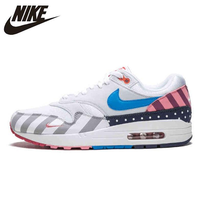 Coupon Khuyến Mại Nike_Parra X Nike_AIR_MAX 90 Rainbow Amusement Park Running Shoes For Men And Women AT3057-100 36-44