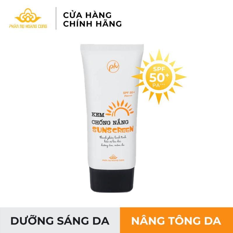 Kem Chống Nắng Phấn Nụ Hoàng Cung-Bảo vệ da bền vững dưới ánh nắng (SPF 50+/PA+++) nhập khẩu