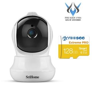 [HCM]Camera IP Wifi SriHome SH020 3.0MP FullHD+ 1536P 1 Anten xoay 355 độ (Trắng) - 4 phân loại tùy chọn - Phụ Kiện 1986 thumbnail