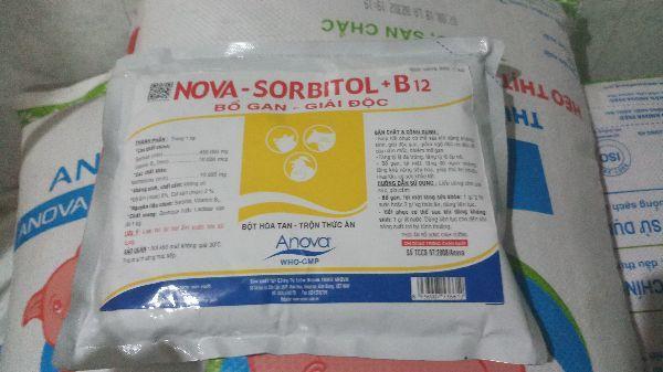 Nova sorbitol 1kg bổ gan giải nhiệt trong cơ thể cao cấp