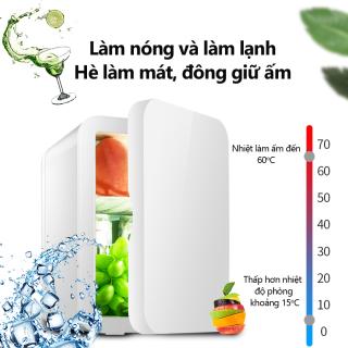 Tủ lạnh mini 8L dùng trên xe oto hoặc gia đình, vừa làm lạnh vừa làm ấm được Keep Going Max thumbnail