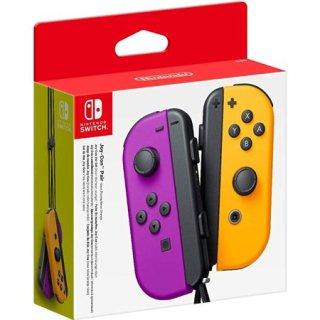 Joy Con Chính Hãng Nintendo Switch Màu Tím Khoa ( Tím + Cam ) thumbnail
