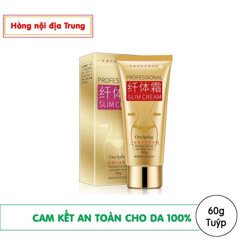 Kem massage tan mỡ toàn thân One Spring Professional Slim Cream 60g (Hàng nội địa Trung) - SHDH032