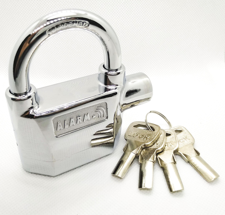 Khóa cửa báo động chống trộm ALARM - Bảo hành 2 năm - công nghệ 2 lõi bi