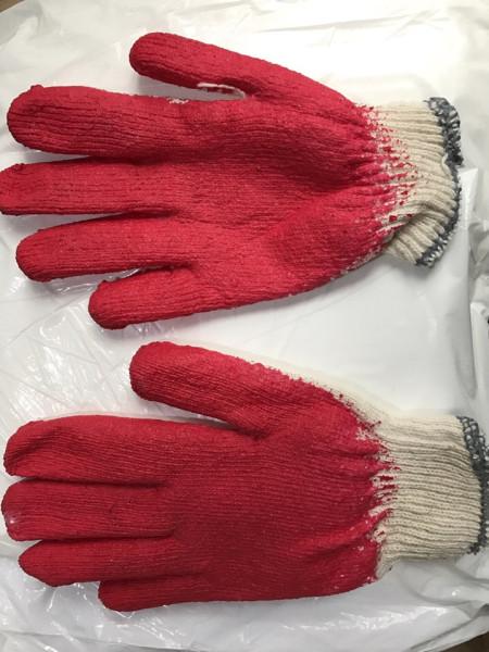 Giá bán 10 đôi găng tay lao động sơn đỏ