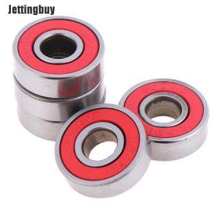 Jettingbuy 5 Cái Red ABEC-7 608RS Skateboard Con Lăn Kín Ball Bearings 8x22x7mm thumbnail