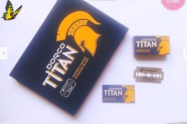 Vỉ 100 lưỡi siêu bén lam titan