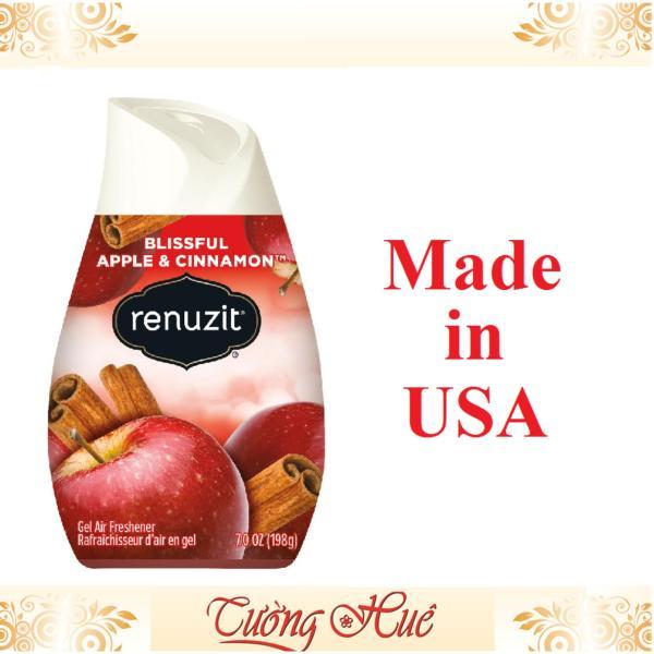 Sáp thơm Renuzit Blissful Apple & Cinnamon 198g