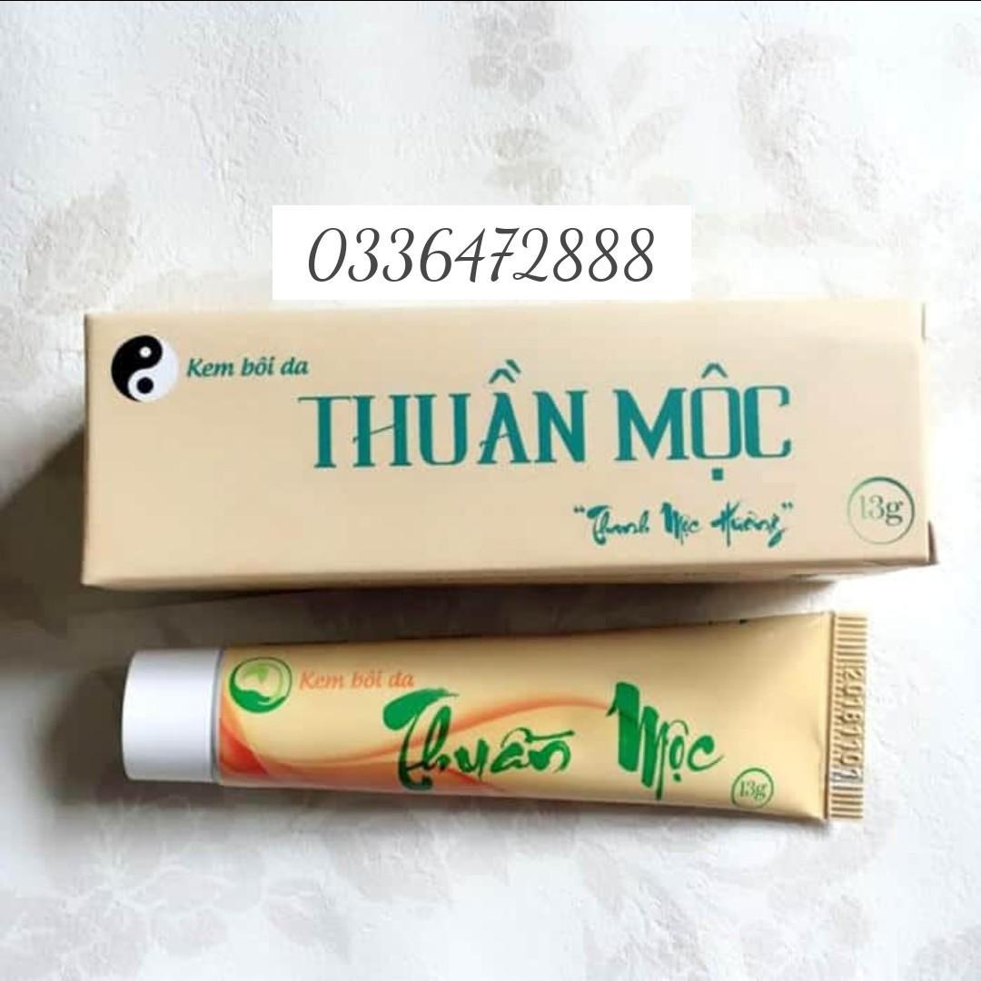 """Thuốc trị bệnh da liễu Thanh Mộc Hương """"Thuần Mộc"""" 13gr"""