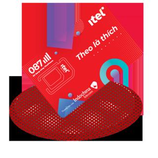 Sim 4G iTel-Vinaphone Gói May- Loại Sim Có Sẵn Gói Cước Tháng Đầu - Chỉ 77k Data 3Gb ngày (90Gb Tháng) - 4G tốc độ cao Toàn Quốc- Gọi Miễn Phí - Free 60 SMS thumbnail