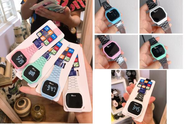 Đồng hồ Casio Cảm ứng A168 bán chạy