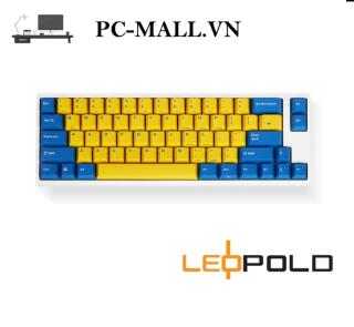 Bàn phím cơ Leopold FC660M PD Sweden - White Case - PC-MALL.VN thumbnail
