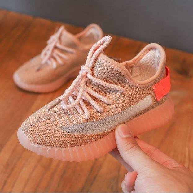 Giày cho bé siêu nhẹ đế êm dáng Sneaker Yeezy Boots kiểu dễ đi phù hợp đi quanh năm C12 giá rẻ
