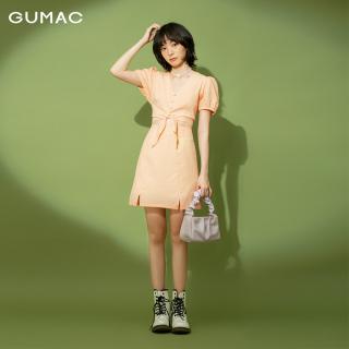 Chân váy nữ GUMAC thiết kế caro xẻ lai VB1176 TEEN thumbnail
