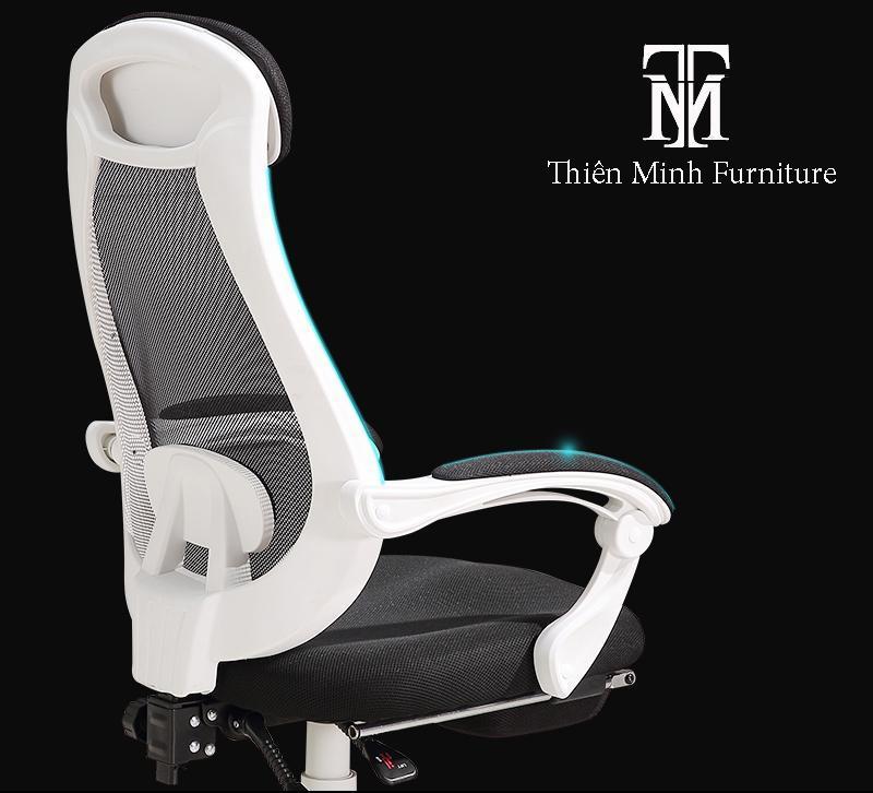 Ghế Kê Chân Đa Tiện ích GX57(white-black) giá rẻ