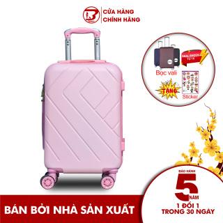 Vali du lịch BAMOZO 8815 nhựa cao cấp Bảo hành 5 năm Size20inch thumbnail
