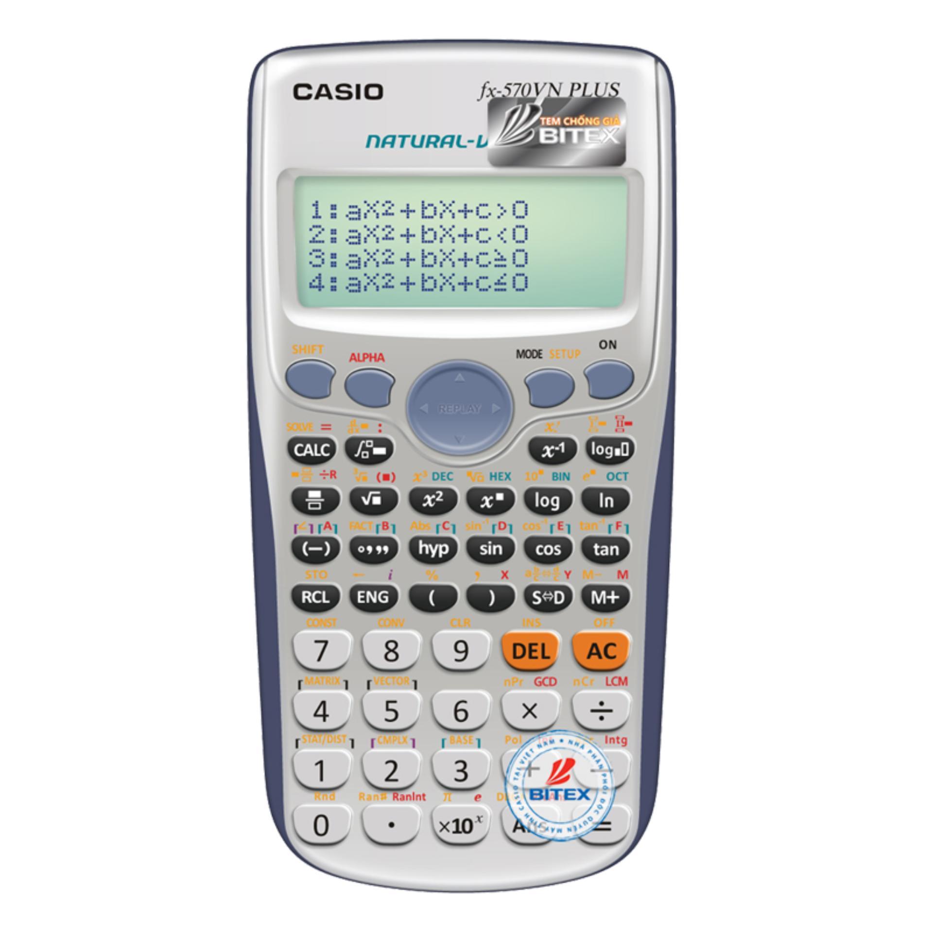 Mua [Tặng 1 hộp bút ]Máy Tính CASIO FX-570VN PLUS