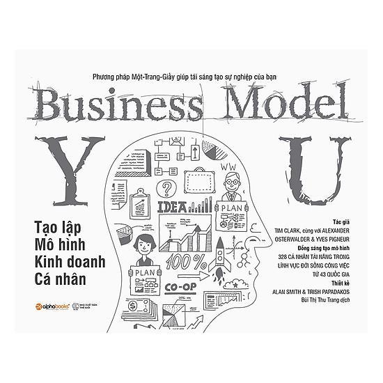 Sách-Business Model You-Tạo Lập Mô Hình Kinh Doanh Cá Nhân Tiếng Việt Phiên Bản Bìa Mềm - Top 100 Sản Phẩm Khởi Nghiệp Làm Giàu Bán Chạy Của Tháng Với Giá Sốc