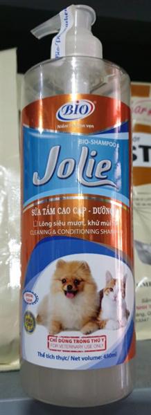[Giá Rẻ] SỮA TẮM BIO JOLIE CHO CHÓ MÈO Giúp Dưỡng Da Lông Siêu Mượt Khử Mùi Hôi Chai 450ml