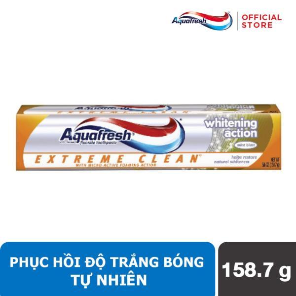Kem đánh răng Aquafresh Extreme Clean Whitening Action 158.7 gr nhập khẩu
