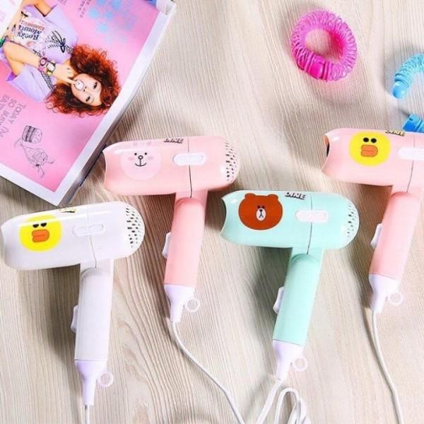 (*_*) Máy sấy tóc mini hình thú cute - Máy sấy nhập khẩu