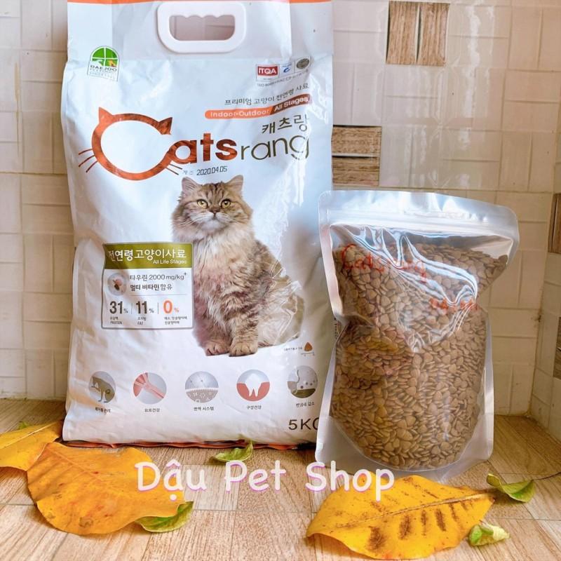 Catsrang Hàn Quốc thức ăn hạt cho mèo 1kg, cam kết hàng đúng mô tả, chất lượng đảm bảo, an toàn cho thú cưng sử dụng