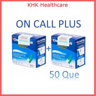 50 Que thử dường huyết On Call Plus date 2022 (2 hộp) KHK Healthcare thumbnail