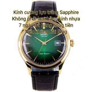 Đồng hồ nam Orient màu xanh JAPAN Kính cường lực tráng Sapphire ( máy pin kim trôi ) thumbnail