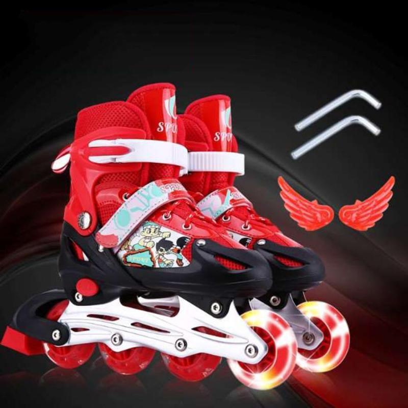 Phân phối Giầy trượt patin cho trẻ em - Mua bán giày trượt patin - Giày Trượt Patin Trẻ Em Tặng Kèm Mũ Bảo Hiểm Và Bộ Bọc Gối An Toàn (Đầu, Tay, Chân) - Bảo hành uy tín bởi A-Home.