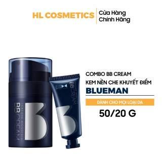 [Hộp 2 chai] BB Cream Kem Nền Trắng Da Giữ Ẩm Che Khuyết Điểm Nền Trang Điểm Mặt Làm Đẹp Cho Nam thumbnail