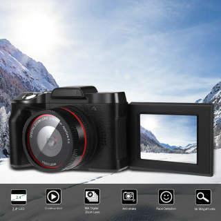 Máy Quay Phim Chuyên Nghiệp Full HD 1080P 16MP Loa Có Độ Nhạy Tự Động 16 Triệu Pixel Tích Hợp Loa Quay Vlog Selfie