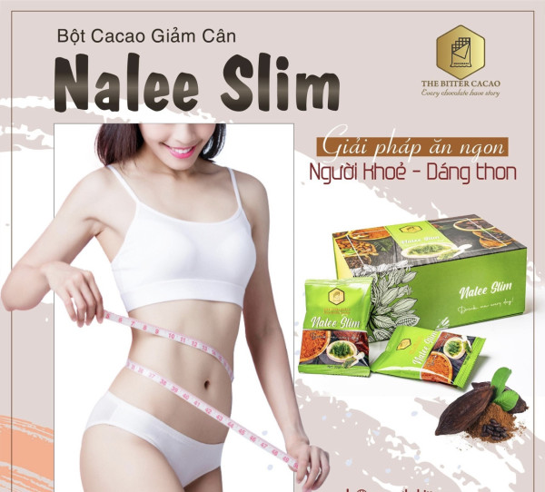 giảm cân,Giảm cân nhanh,Giảm cân Nalee Cacao nalee slim mẫu mới [1 hộp 20 gói]