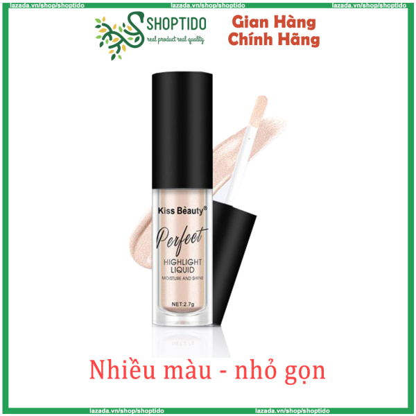 Nhũ mắt Kiss Beauty Perfect Highlight Liquid 2 in 1 NPP Shoptido giá rẻ