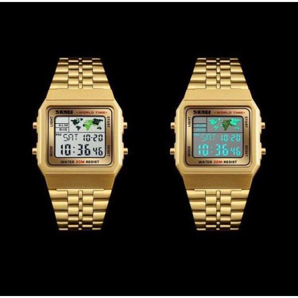 Đồng hồ điện tử thời trang nam Skmei 1338 cực chất