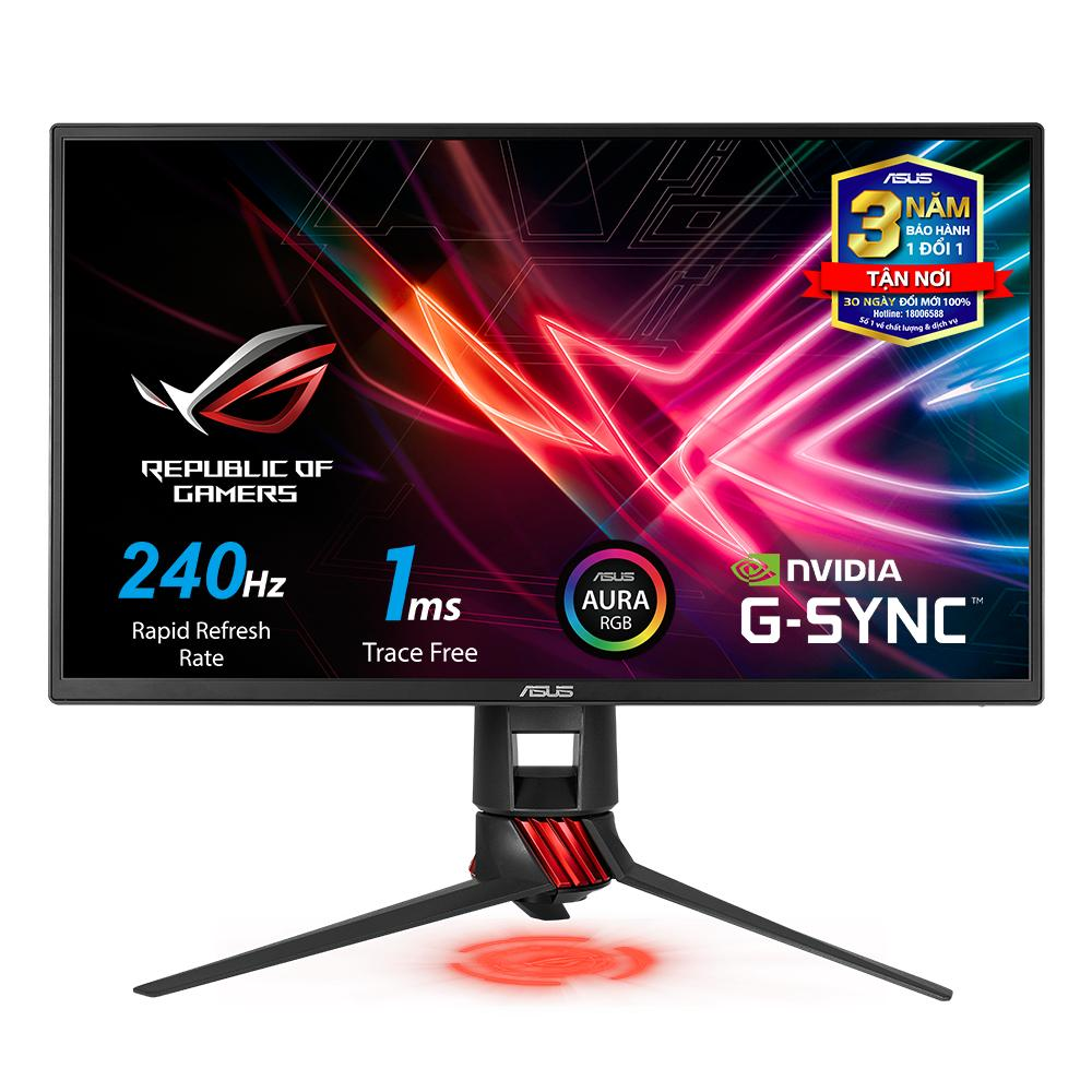 Màn hình Game ASUS ROG Strix XG258Q 25 240Hz 1ms G-SYNC Compatible, FreeSync Full HD Aura RGB - ASUS XG Series XG258Q Monitor