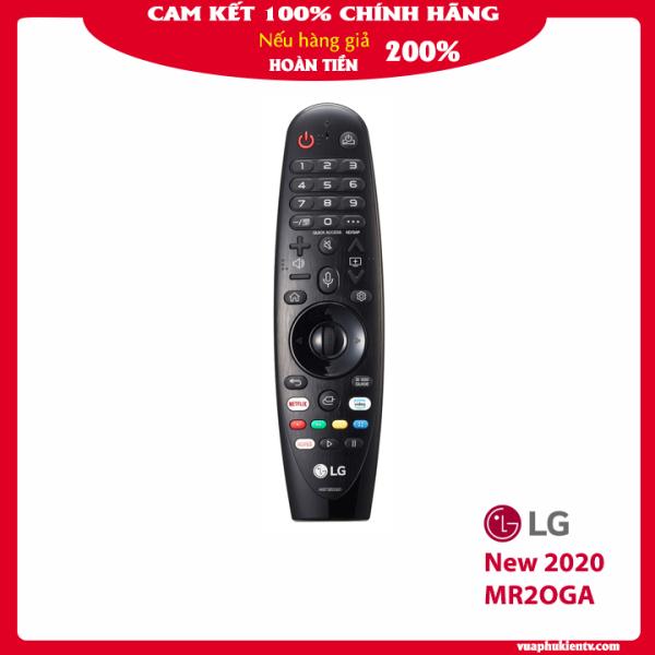 Bảng giá Điều khiển thông minh Tivi LG  magic remote AN MR19BA, AN MR18BA, AN MR20GA   màu đen bảo CHÍNH HÃNG hỗ trợ tìm kiếm giọng nói tiếng Việt, con lăn, con trỏ, model mới 2020  dùng được cho tivi LG đời 2017, 2018, 2019, 2020