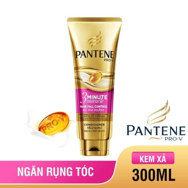 Kem xả Pantene 3 Phút diệu kỳ Ngăn rụng tóc 300ml tốt nhất