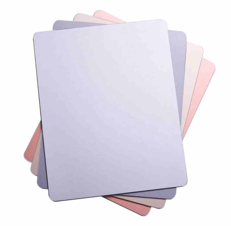 Giá Miếng lót chuột Nhôm nguyên khối Cỡ lớn (30x24 cm) - Mouse pad Aluminium (Big size)