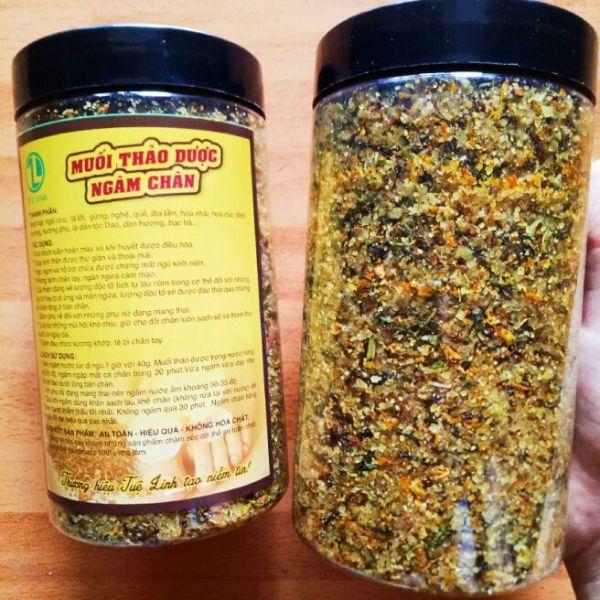 Combo 3kg muối thảo dược ngâm chân cao cấp