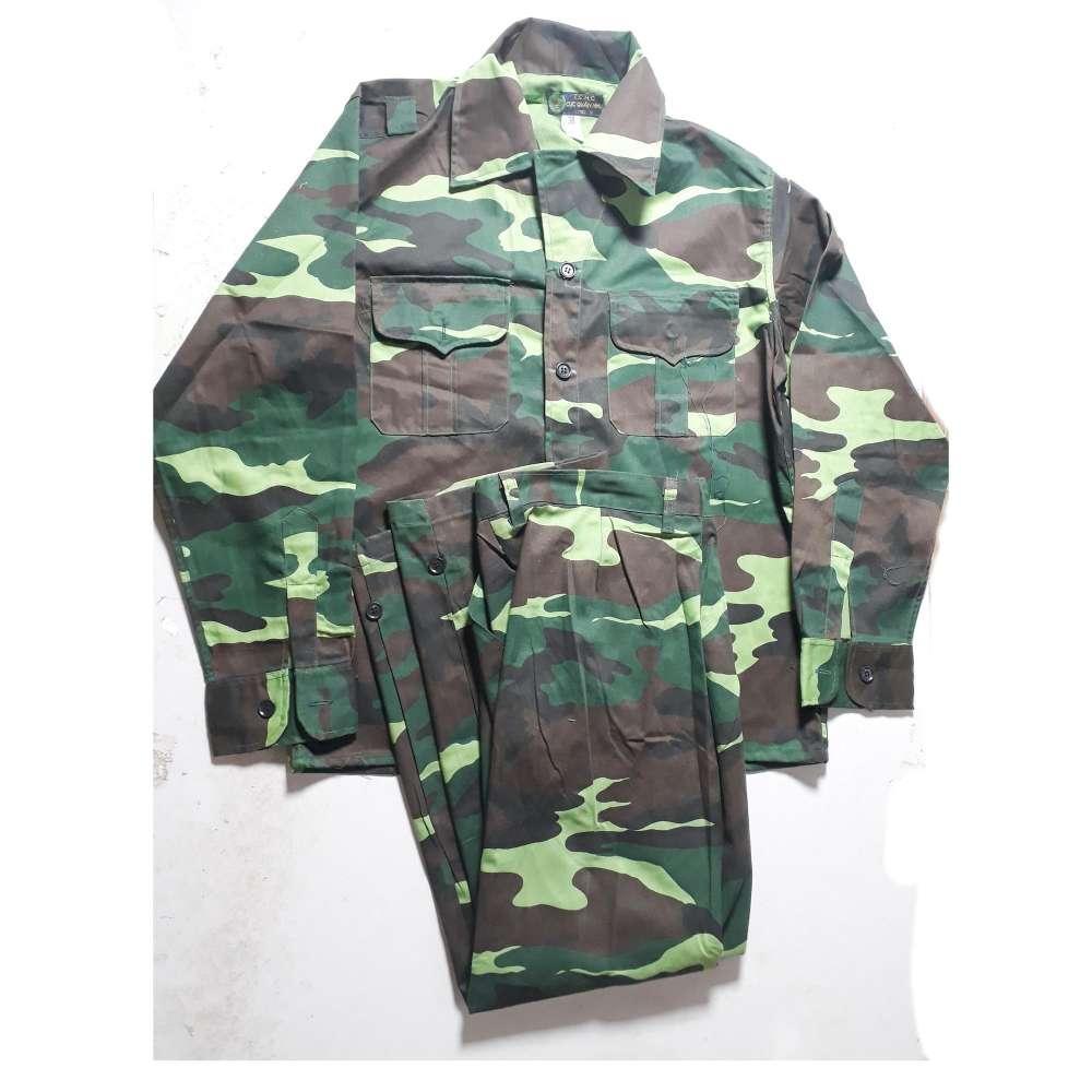 Bộ quần áo rằn ri - Size 3