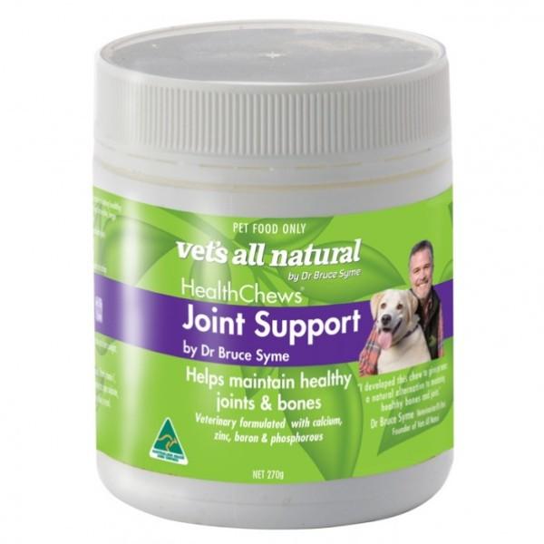 [xuất xứ Úc] Thực phẩm hỗ trợ xương khớp cho chó VETS ALL NATURAL  HEALTH CHEWS (JOINT SUPPORT) 270g