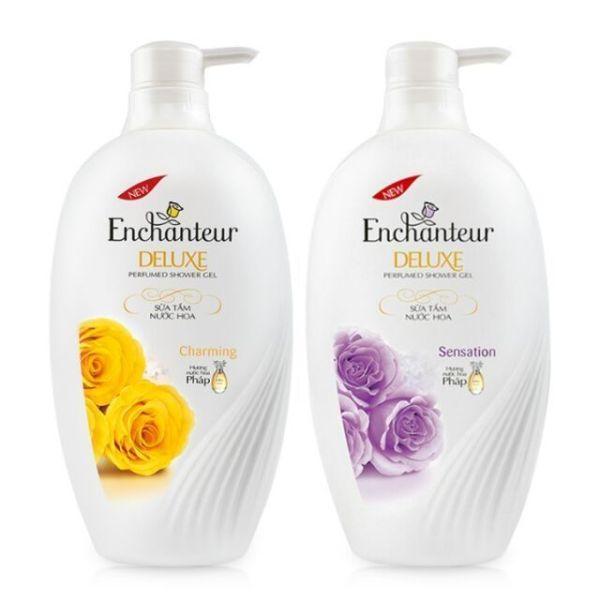 Dầu gội và Sữa Tắm nước hoa Enchanteur đủ loại 650g giá rẻ