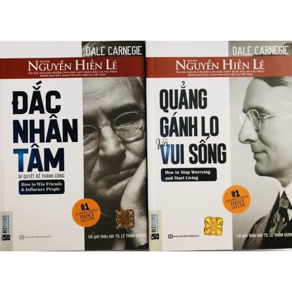Sách - Combo Đắc Nhân Tâm + Quẳng Gánh Lo Và Vui Sống tặng kèm bút bi