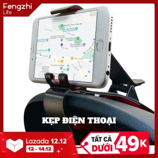[XẢ KHO HÀNG CHẤT GIÁ RẺ] Kẹp giá đỡ điện thoại xe hơi FENGZHI LIFE FS9 - Kẹp xe nhỏ gọn tiện lợi, phù hợp kẹp Iphone, giá đỡ điện thoại thumbnail