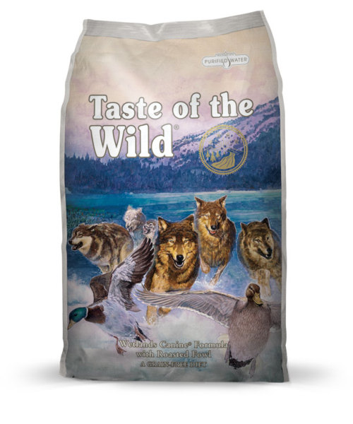 Thức ăn cho chó thịt chim rừng Taste of the wild Wetland Wild Fowl 12,2kg