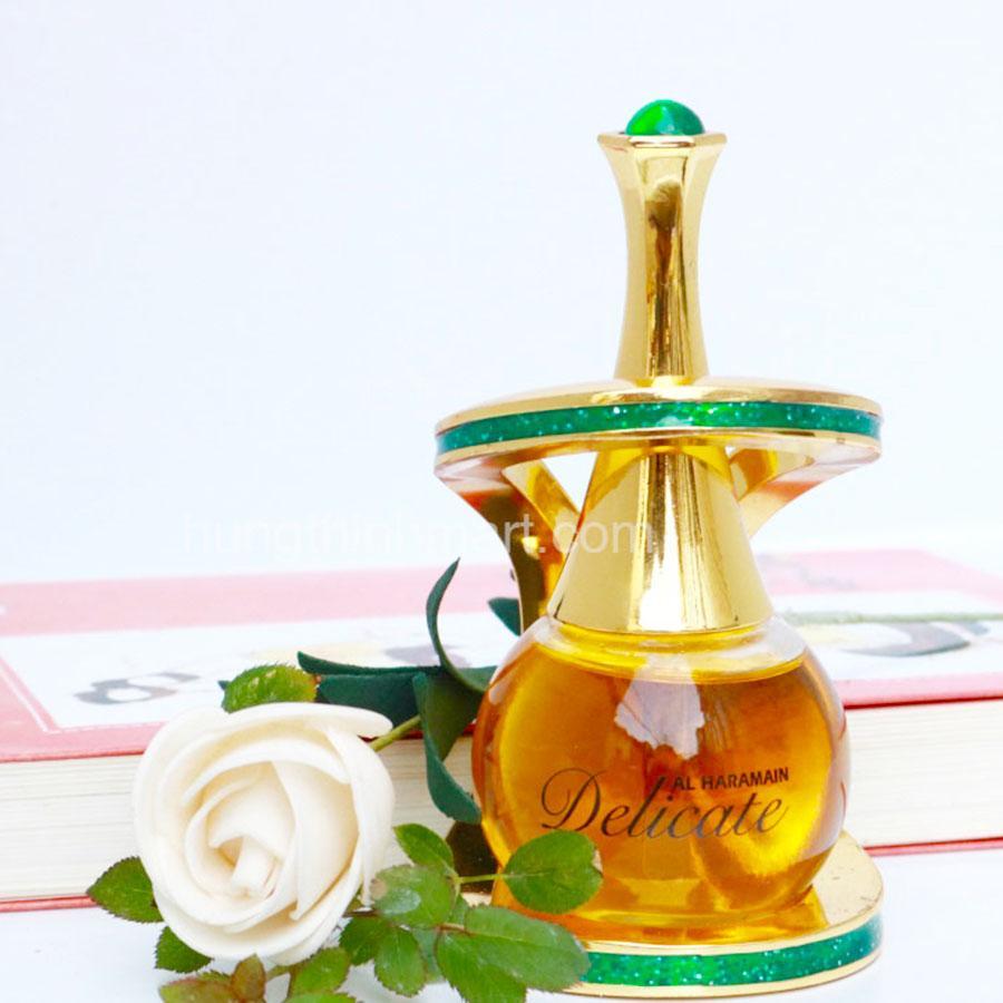 Nước hoa tinh dầu Dubai Delicate hương trái cây, ngọt ngào 24 ml